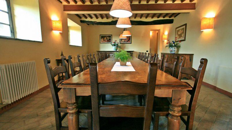 Stone farmhouse Villa Montebello Tuscany Montalcinello 73
