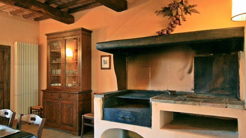 Stone farmhouse Villa Montebello Tuscany Montalcinello 78