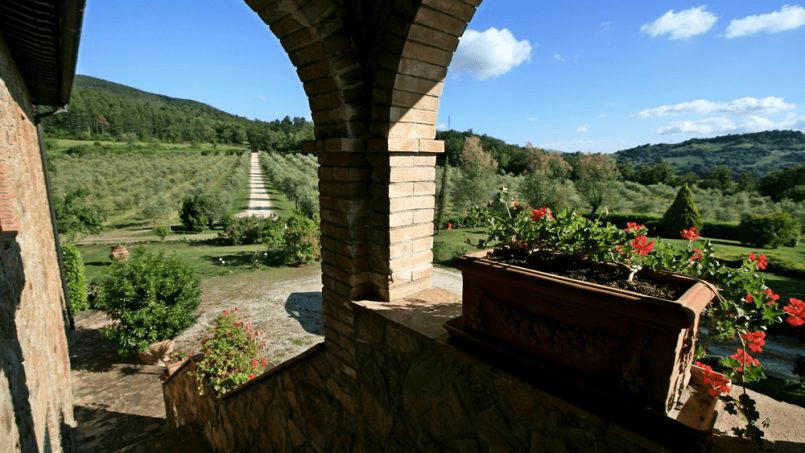 Hillside Villa Toscana Tuscany Radicondoli 2