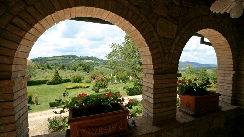 Hillside Villa Toscana Tuscany Radicondoli 3