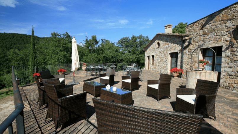 Hillside Villa Toscana Tuscany Radicondoli 5