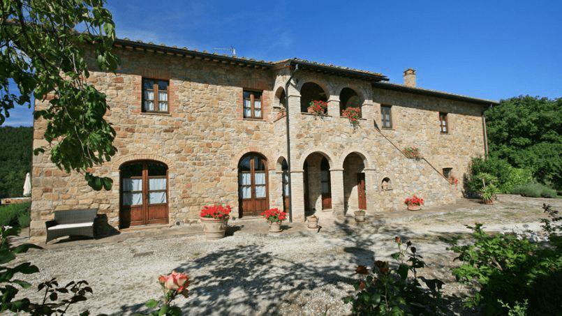 Hillside Villa Toscana Tuscany Radicondoli 51