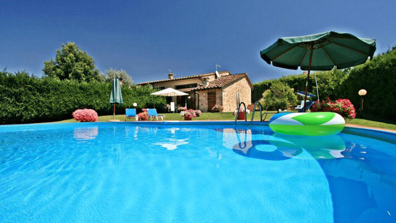 Stone built Villa Casavico Tuscany Siena 1-2