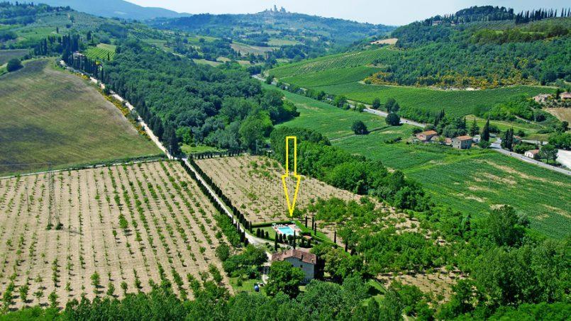 Farmhouse Santa Lucia Tuscany San Gimignano 2