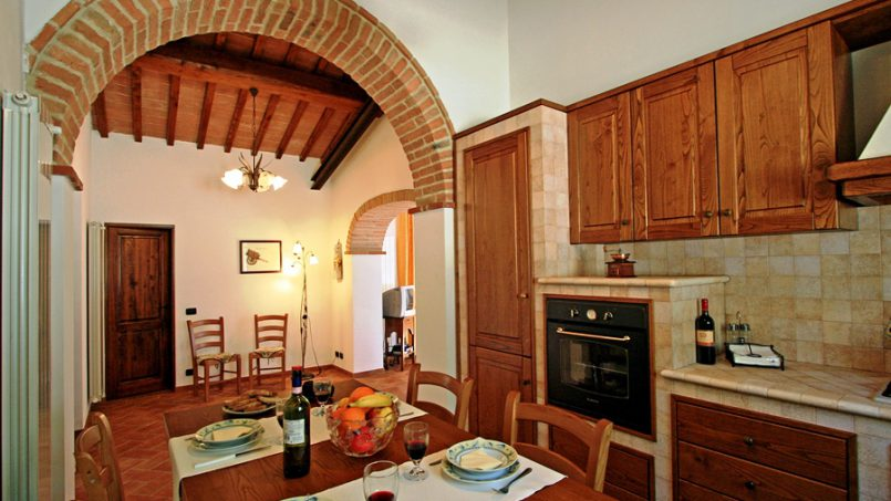 Stone built Villa Casavico Tuscany Siena 23