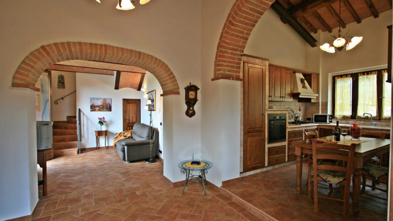 Stone built Villa Casavico Tuscany Siena 3