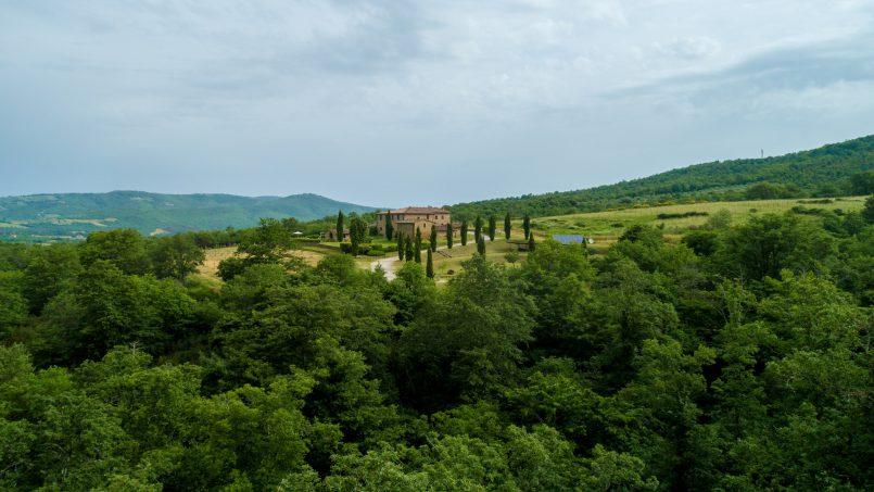 Built in stone house Villa Giovanna Tuscany Bucine 1
