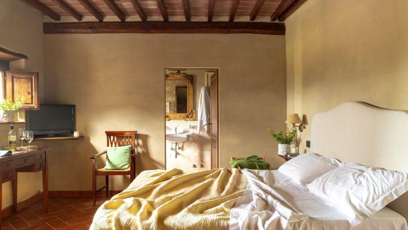 Built in stone house Villa Giovanna Tuscany Bucine 20