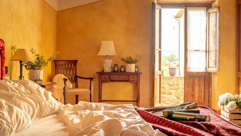 Built in stone house Villa Giovanna Tuscany Bucine 23