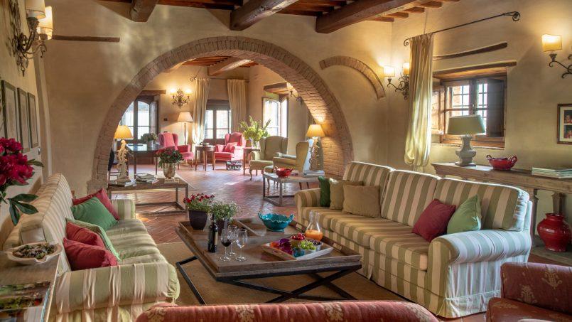 Built in stone house Villa Giovanna Tuscany Bucine 24