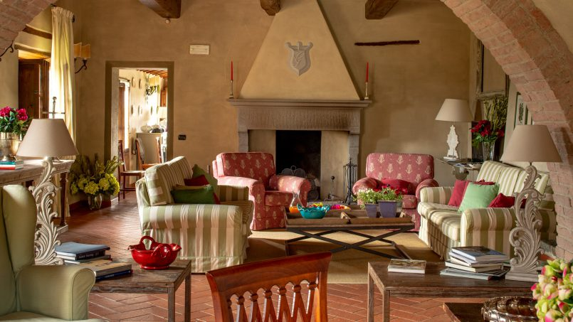 Built in stone house Villa Giovanna Tuscany Bucine 25