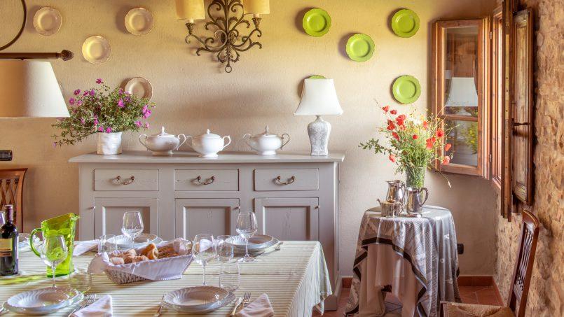 Built in stone house Villa Giovanna Tuscany Bucine 26