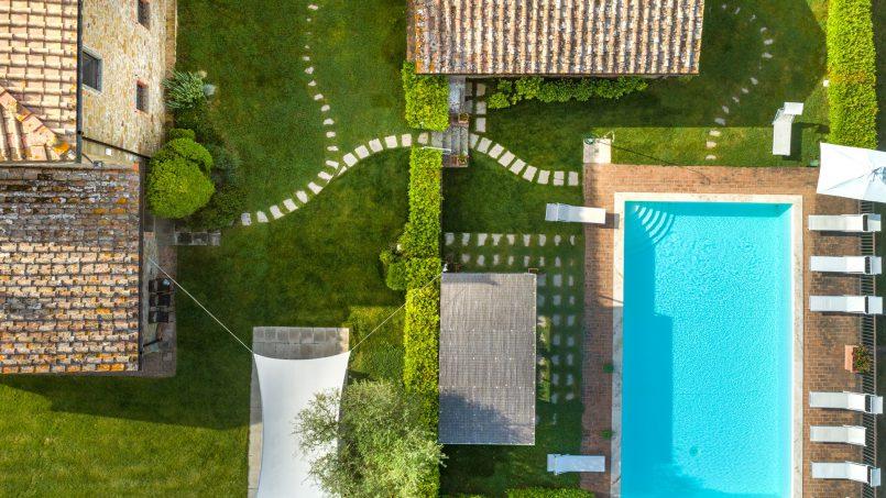 Built in stone house Villa Giovanna Tuscany Bucine 3