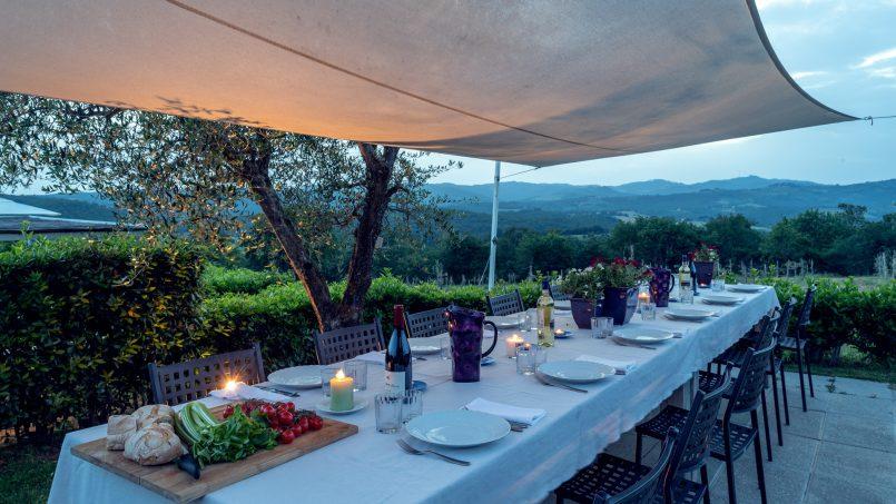 Built in stone house Villa Giovanna Tuscany Bucine 32