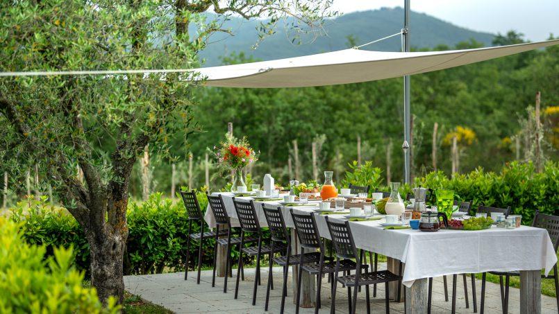 Built in stone house Villa Giovanna Tuscany Bucine 34