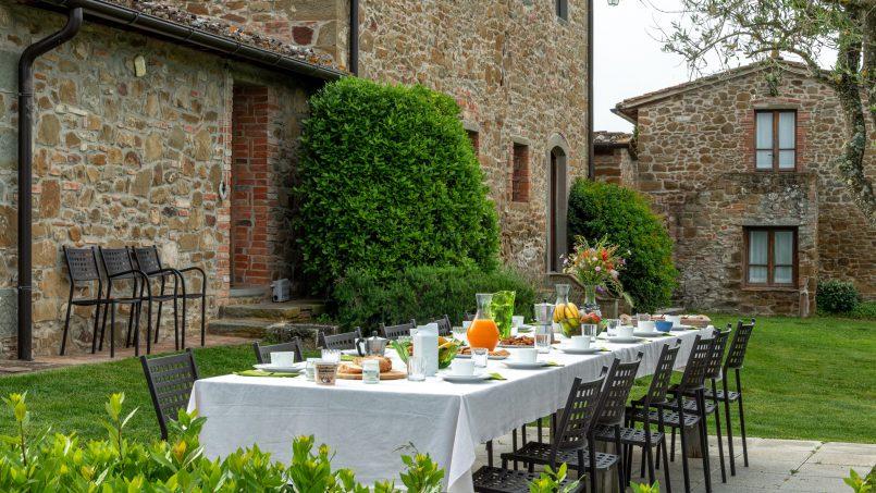 Built in stone house Villa Giovanna Tuscany Bucine 35