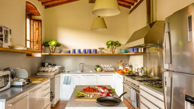 Built in stone house Villa Giovanna Tuscany Bucine 41