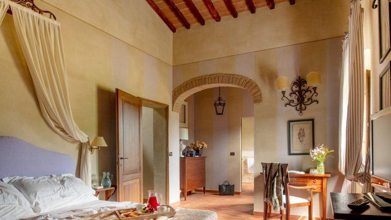 Built in stone house Villa Giovanna Tuscany Bucine 6