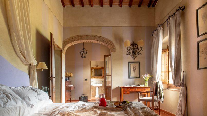Built in stone house Villa Giovanna Tuscany Bucine 7