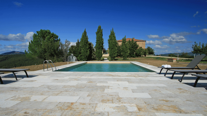 Historic building Villa Lavanda Tuscany Radicondoli 1-3