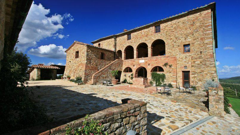 Historic building Villa Lavanda Tuscany Radicondoli 125