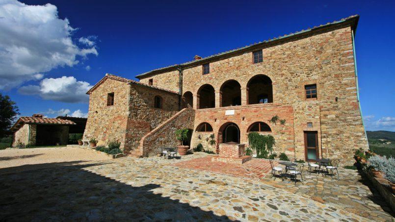 Historic building Villa Lavanda Tuscany Radicondoli 126