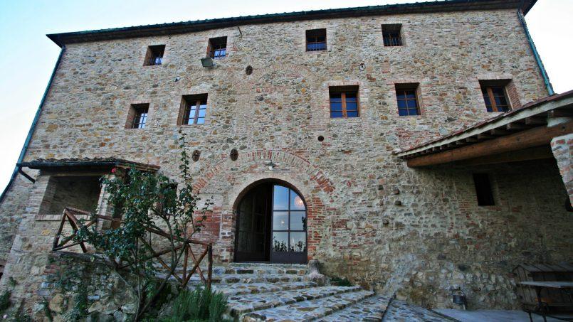 Historic building Villa Lavanda Tuscany Radicondoli 17