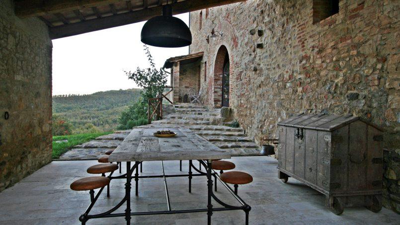 Historic building Villa Lavanda Tuscany Radicondoli 19