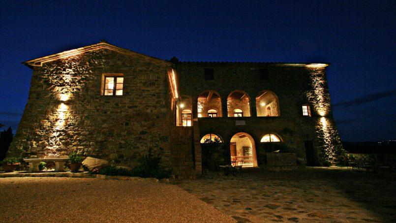 Historic building Villa Lavanda Tuscany Radicondoli 2