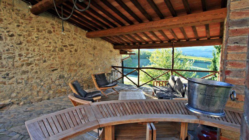 Historic building Villa Lavanda Tuscany Radicondoli 24