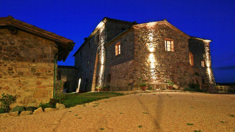 Historic building Villa Lavanda Tuscany Radicondoli 3