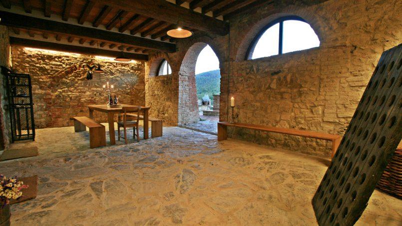 Historic building Villa Lavanda Tuscany Radicondoli 30