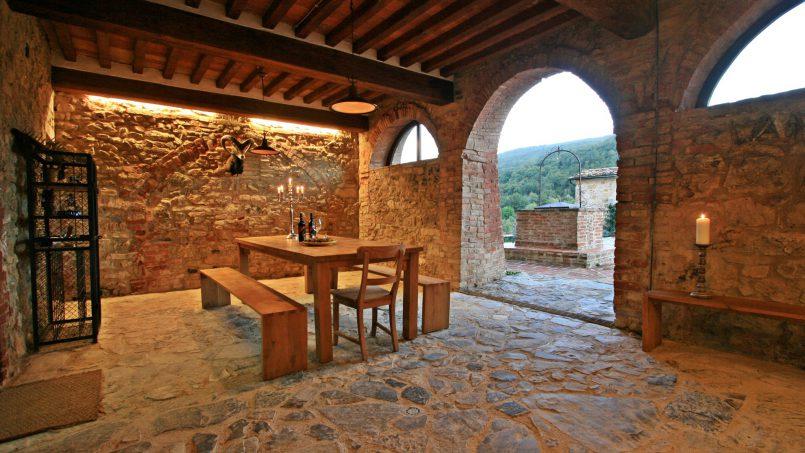 Historic building Villa Lavanda Tuscany Radicondoli 31