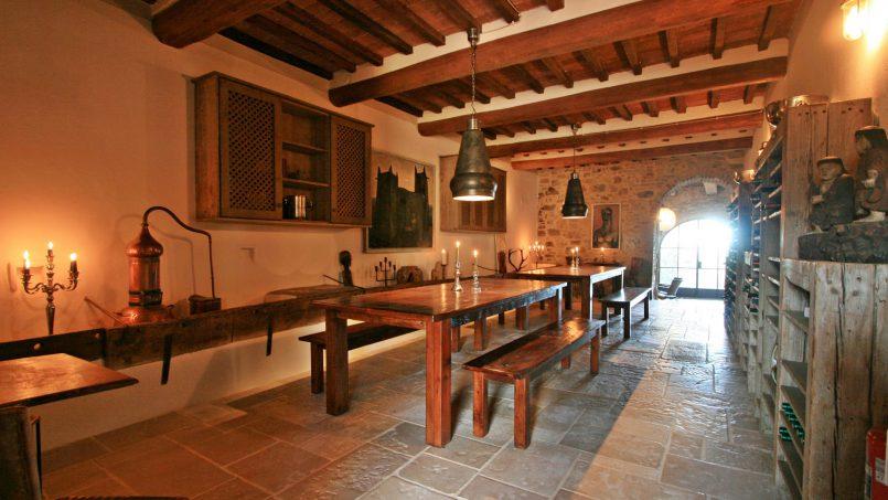 Historic building Villa Lavanda Tuscany Radicondoli 34