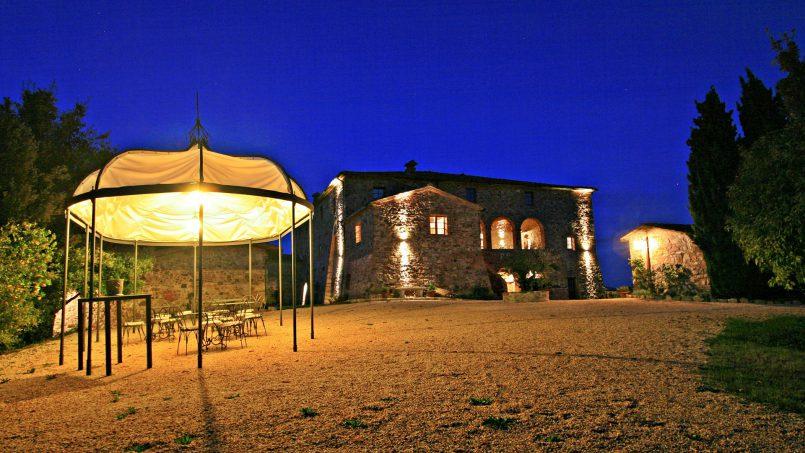 Historic building Villa Lavanda Tuscany Radicondoli 4