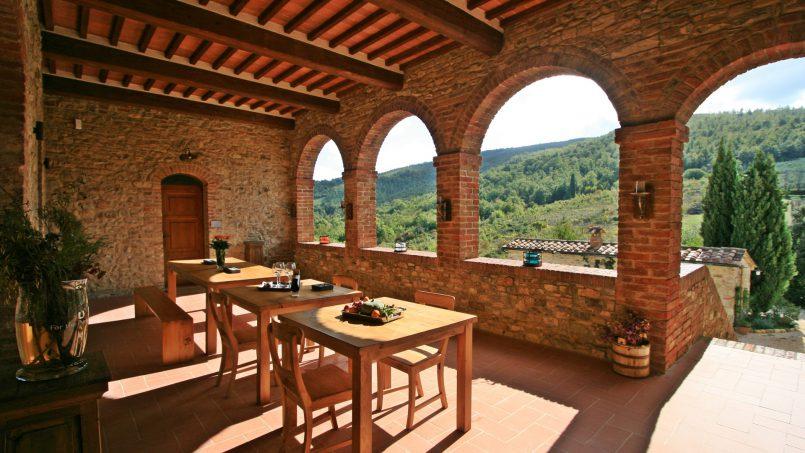 Historic building Villa Lavanda Tuscany Radicondoli 48