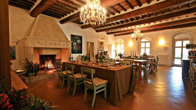 Historic building Villa Lavanda Tuscany Radicondoli 49