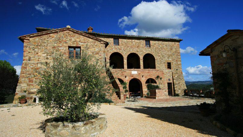 Historic building Villa Lavanda Tuscany Radicondoli 5