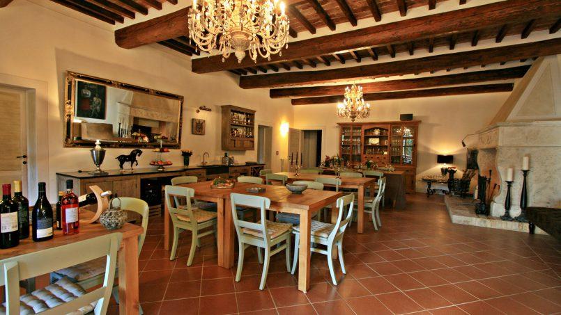 Historic building Villa Lavanda Tuscany Radicondoli 53