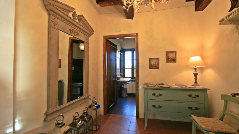 Historic building Villa Lavanda Tuscany Radicondoli 57