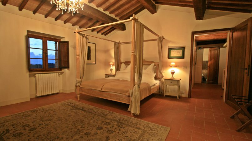Historic building Villa Lavanda Tuscany Radicondoli 64
