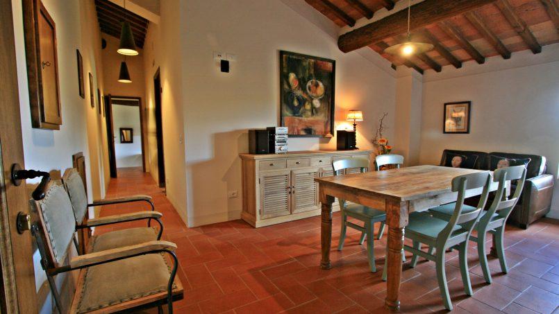 Historic building Villa Lavanda Tuscany Radicondoli 67