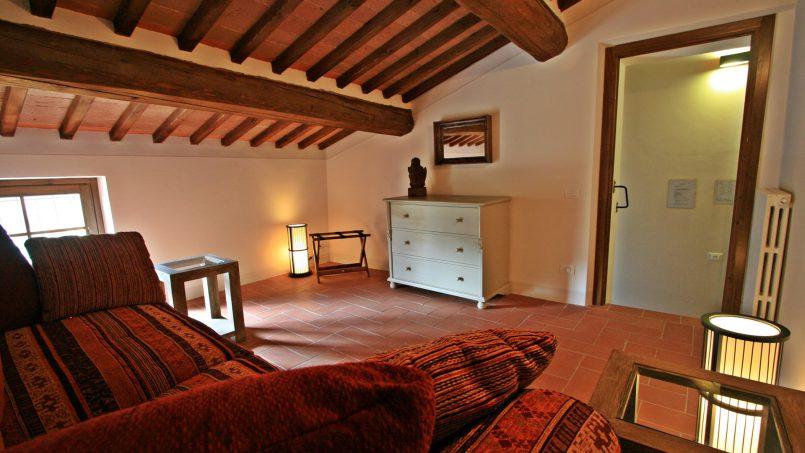 Historic building Villa Lavanda Tuscany Radicondoli 69