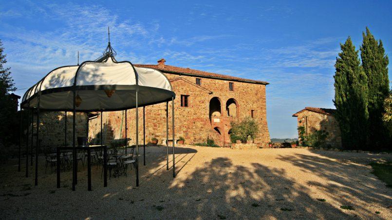 Historic building Villa Lavanda Tuscany Radicondoli 7