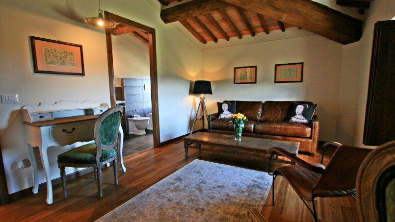 Historic building Villa Lavanda Tuscany Radicondoli 89
