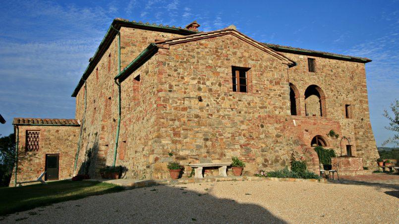Historic building Villa Lavanda Tuscany Radicondoli 9