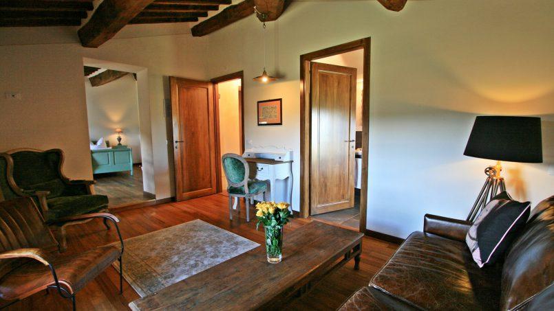 Historic building Villa Lavanda Tuscany Radicondoli 90