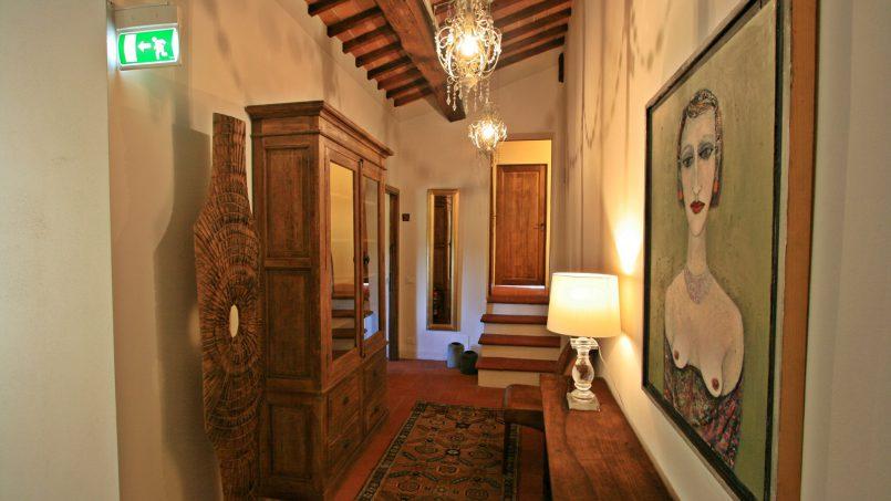 Historic building Villa Lavanda Tuscany Radicondoli 97