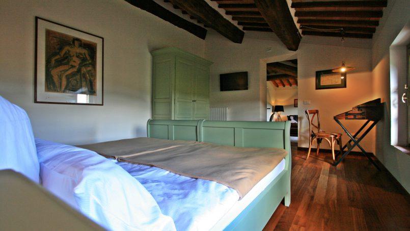 Historic building Villa Lavanda Tuscany Radicondoli 105 suite