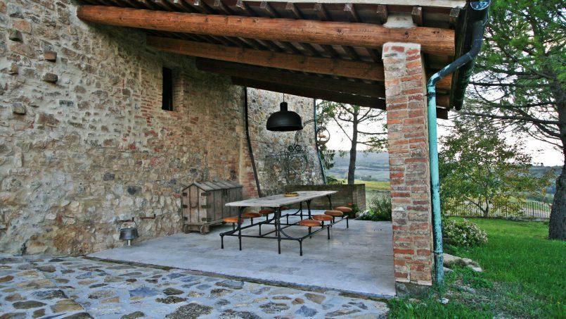 Historic building Villa Lavanda Tuscany Radicondoli 18